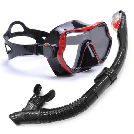 red-Professional-Scuba-Diving-Mask-and-Snorkels-Anti-Fog-Goggles-Glasses-Diving-Swimming-Easy