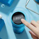 450ml Thermos Vacuum Flasks Temperature Display Stainless Steel Water Bottle Travel Coffee Mug Tea Milk Mug Thermo cup 2