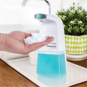 Automatic Induction Foam Soap Dispenser Kitchen  Bathroom Auto Sensing Soap Dispenser 310ML Children Baby Wash Hands Dispenser