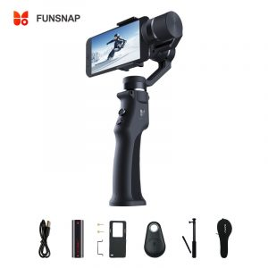 Gimbal 3 Axis Handheld Stabilizer For Smartphone, Gopro Sjcam Xiaomi 4k Action Camera with follow option