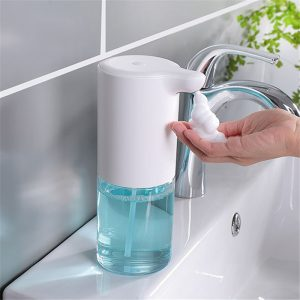 Touchless Foam Soap Dispenser Auto Makeup remover Hand Sanitizer Dispenser Shampoo Shower Gel Bottle Dispenser Hotel Bathroom 3