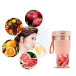 Electric Fruit Juicer USB Rechargeable Blender 300MLPortable Fruit Juice Maker Smoothie Blender Machine Mixer Juicing Cup 2