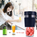 Electric Fruit Juicer USB Rechargeable Blender 300MLPortable Fruit Juice Maker Smoothie Blender Machine Mixer Juicing Cup
